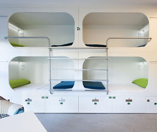 diseño de hostel