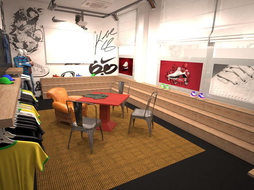245d18bf8f094 Nike Showroom - Innou Studio