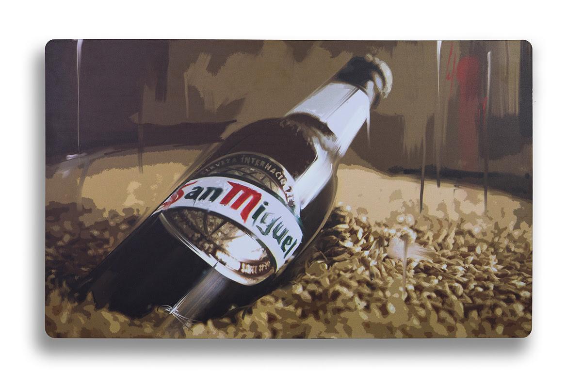 07210601 - Cuadro Botella