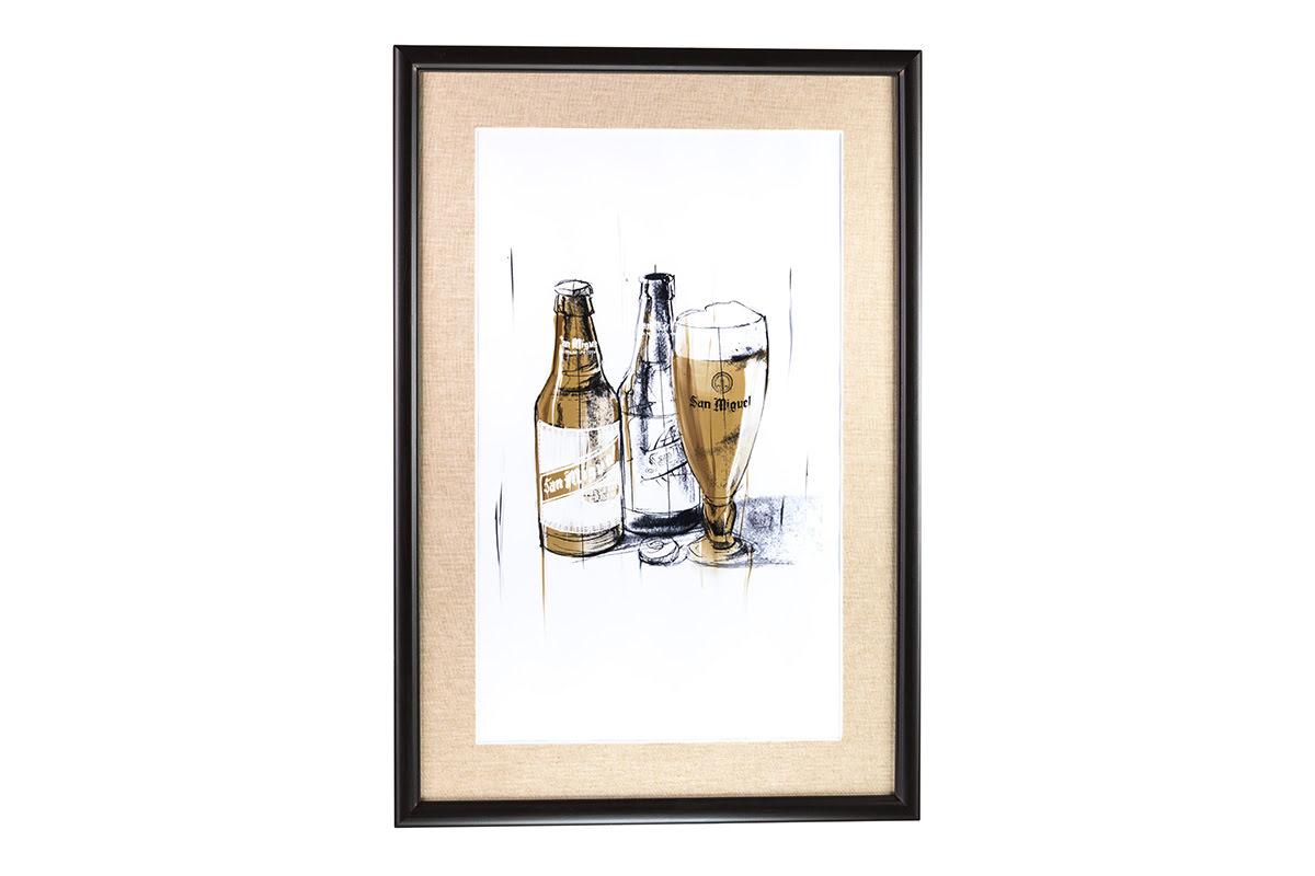 07210606 - Cuadro Cerveza clásica